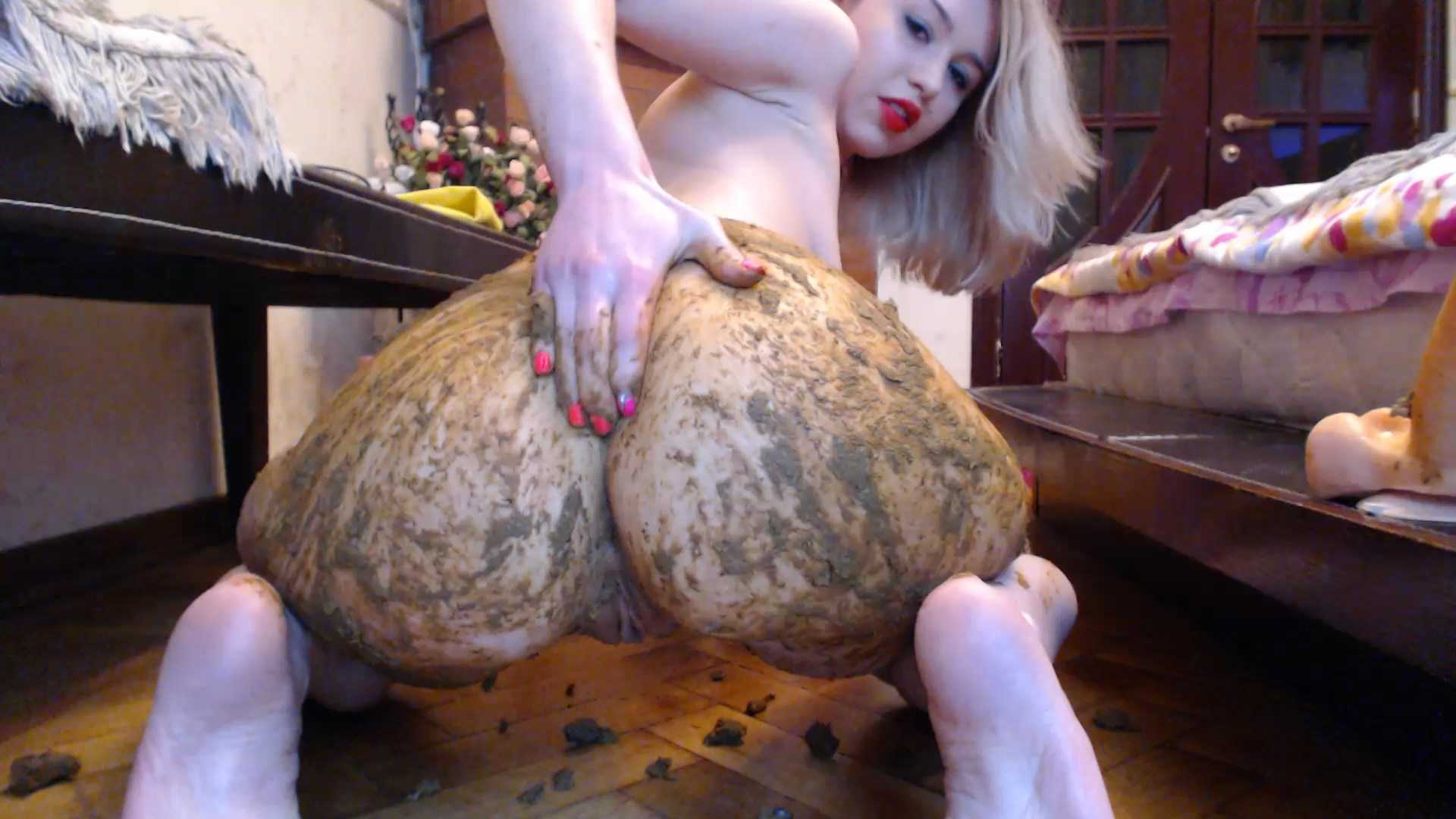 Smearing Ass with Shit - DirtyLena | Full HD 1080p | Jul 18, 2017